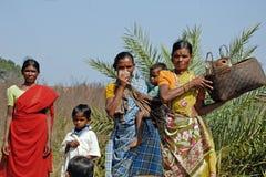 Povertà rurale fotografia stock