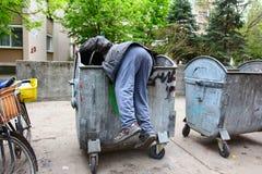 Povertà urbana Immagini Stock Libere da Diritti