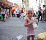 Poverty in Asia Stock Photography