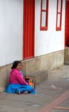 Poverty in Bogota Royalty Free Stock Images