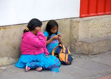 Poverty in Bogota Stock Images