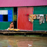 Poverty, Cambodia Stock Photography