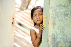 Poverty Child Stock Photo