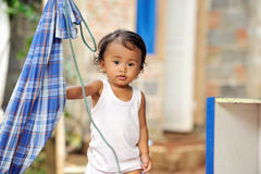 Poverty Child Stock Photography