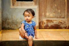 Poverty Children. Children living in poverty. Indonesia stock photos