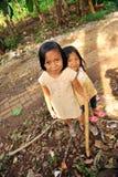 Poverty Children Stock Photo