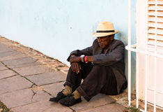 Poverty in Cuba - Trinidad, Cuba Stock Image