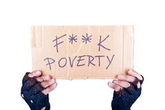 Poverty Stock Image