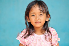 Poverty Girl Royalty Free Stock Photography