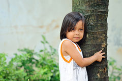 Poverty Girl Stock Photography