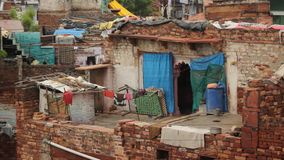 Poverty House stock video footage