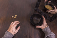 Poverty and illusion concept Stock Photos
