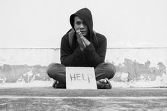 Poverty Issue Royalty Free Stock Photo