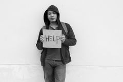 Poverty Issue Stock Photography