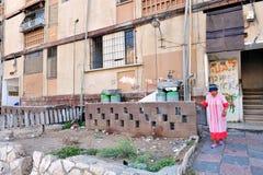 Poverty in Kiryat Malachi, Israel Royalty Free Stock Image