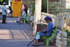 Poverty in Kiryat Malachi, Israel Stock Photography
