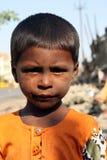 Poverty Portrait Stock Images