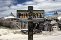 Poverty in township. Royalty Free Stock Photo
