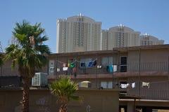 Poverty - Wealth, Las Vegas Stock Photo