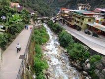 Povoado indígeno de Machu Picchu Imagem de Stock