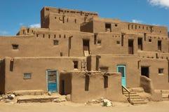 Povoado indígeno de Taos, New mexico Imagens de Stock