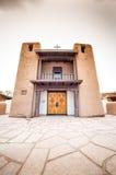 Povoado indígeno de Taos - um tipo tradicional de arquitetura nativa dos indianos imagem de stock