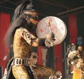 Povoado indígeno Maya de Xcaret Imagens de Stock