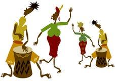 Povos africanos Imagens de Stock Royalty Free