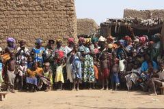 Povos africanos Fotografia de Stock Royalty Free