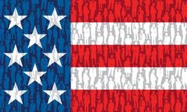 Povos americanos Fotografia de Stock