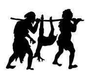 povos antigos   ilustração do vetor