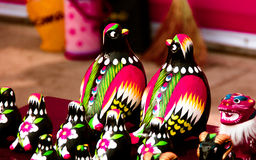 Povos as artes do templo e o pato de mandarino justos dos ofícios Fotografia de Stock
