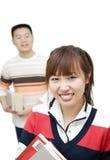 Povos asiáticos novos Imagens de Stock Royalty Free