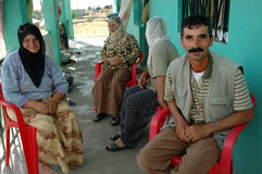 Povos curdos em Diyarbakir Imagem de Stock Royalty Free