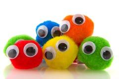 Povos curiosos coloridos Fotografia de Stock