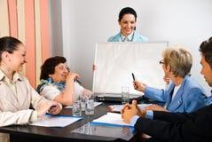Povos da apresentação e da reunião do negócio Fotografia de Stock Royalty Free