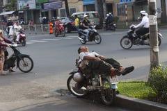 Povos da cidade de Ho Chi MInh Fotografia de Stock