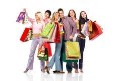 Povos da compra Imagens de Stock