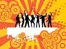 Povos da dança Imagens de Stock