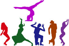 Povos da dança Fotos de Stock