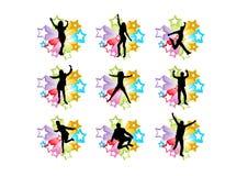 Povos da dança Foto de Stock