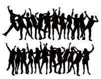 Povos da dança Imagem de Stock