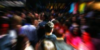 Povos da dança do disco imagens de stock
