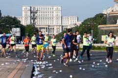 Povos da maratona Foto de Stock Royalty Free