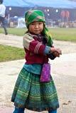 Povos da minoria de H'Mong Ehtnic de Vietnam Foto de Stock Royalty Free