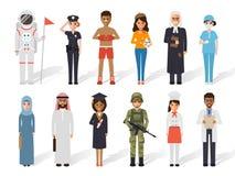 Povos da profissão da ocupação ilustração royalty free