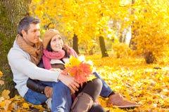 Povos da queda do outono imagem de stock