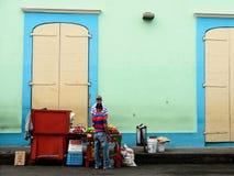 Povos da República Dominicana imagem de stock