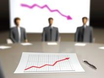 Povos da reunião, plano empresarial Fotografia de Stock Royalty Free