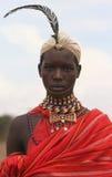 Povos de África imagem de stock